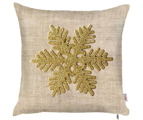 Snowflake Natural Párnahuzat 43x43 cm