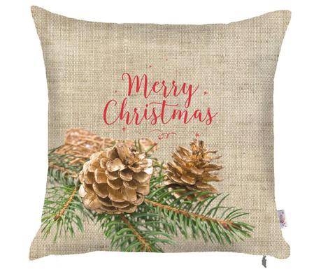 Poszewka na poduszkę Christmas Pinecone 43x43 cm