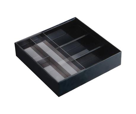 Suport extensibil pentru tacamuri Extenso Black