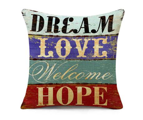 Калъфка за възглавница Dream & Love 45x45 см