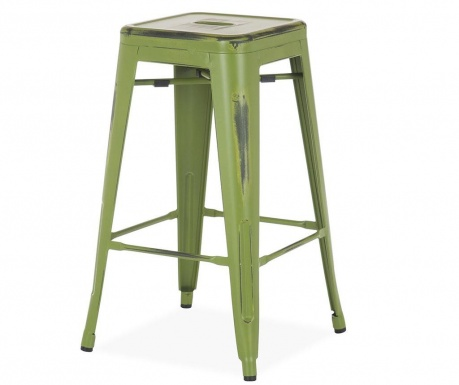 Бар стол Antique Ural Green