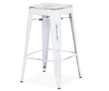 Бар стол Antique Ural White