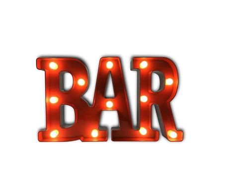 Светеща стенна декорация Bar
