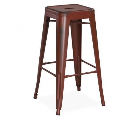 Бар стол Ural Vintage Dark Red