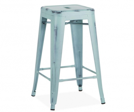Бар стол Antique Ural Vintage Blue