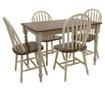 Set miza in 4 stoli Fine Contrast