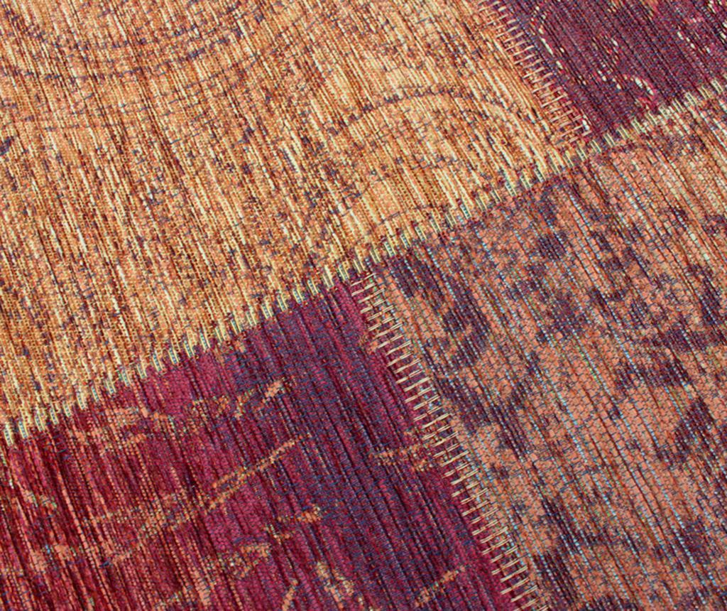 Patchwork Chenille Terracotta Szőnyeg 155x230cm