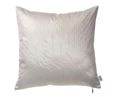 Obliečka na vankúš Metallic Grey Cream 43x43 cm