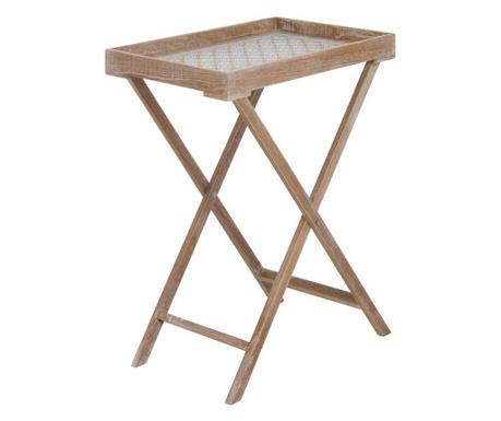 Skládací stolek s podnosem Ostrid