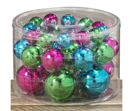 Set 30 globuri decorative Happy Times