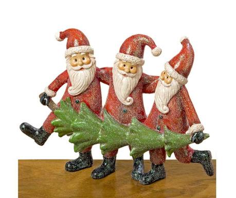 Decoratiune Three Santas
