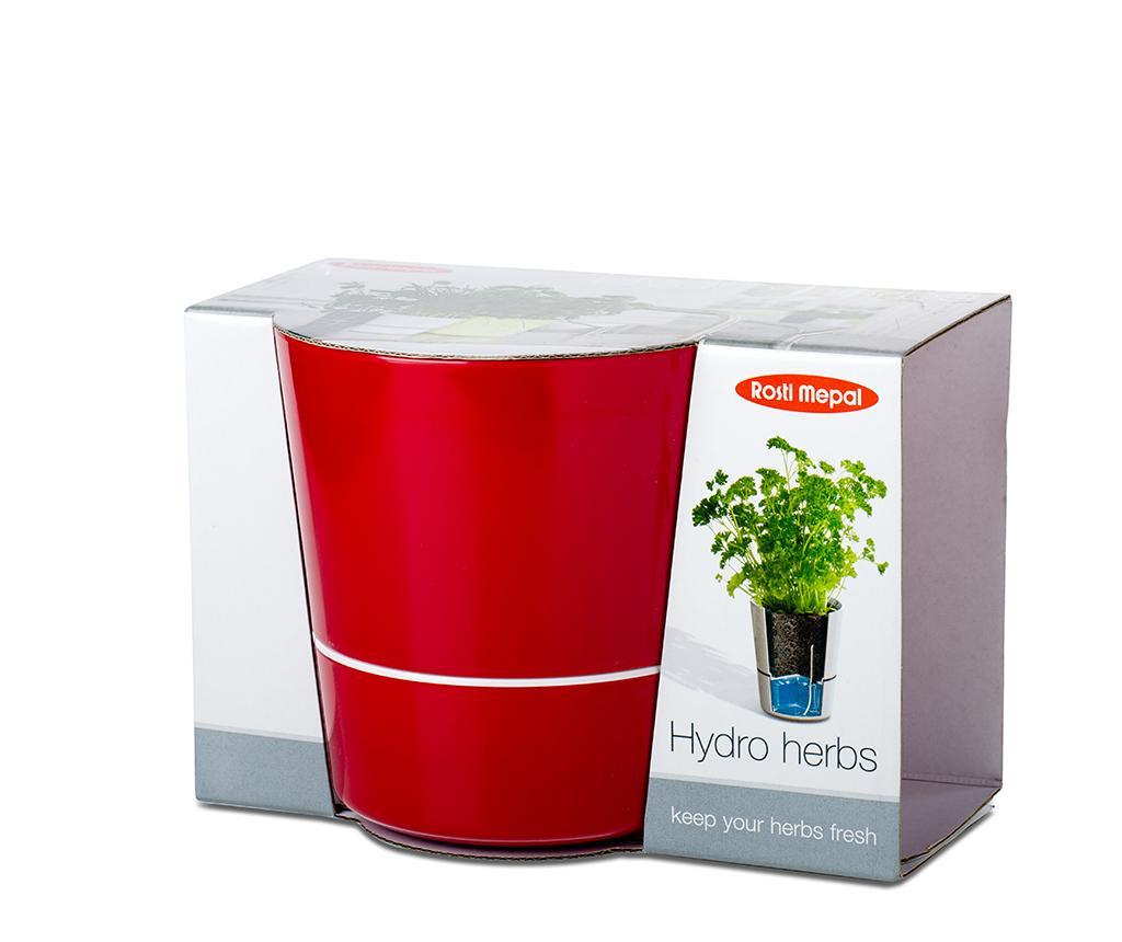 Hydro Red Virágcserép önlocsoló rendszerrel