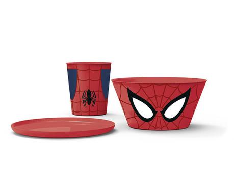 Spider-Man 3 darabos Étkészlet