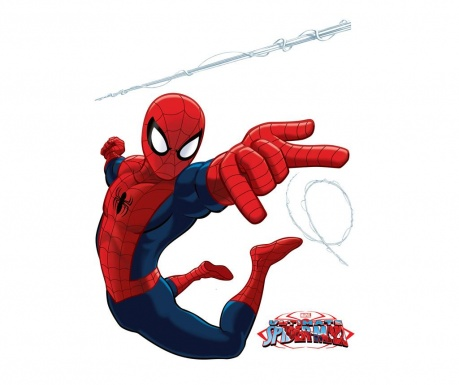Sada 4 samolepek The Ultimate Spider-Man