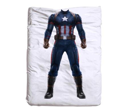 Captain America Paplanhuzat 140x200 cm