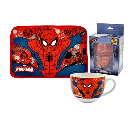 Spider-Man Reggeliző bögre és tányéralátét