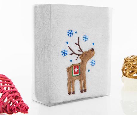 Reindeer Snow Fürdőszobai törölköző 30x50 cm
