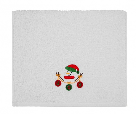 Kopalniška brisača Snowman Joy 30x50 cm