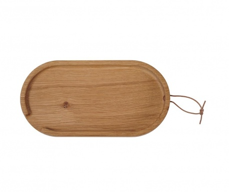 Servirni pladenj Flip Oval Small Oak