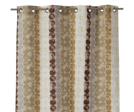 Draperie Valais Brown 140x260 cm