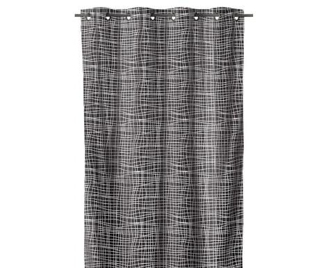 Draperie Netting Old Grey 140x260 cm