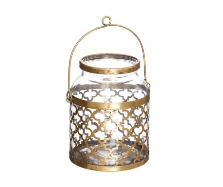 Lanterna Quatrefoil Gold