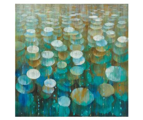 Slika Blue Dreams 120x120 cm