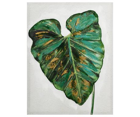 Tablou Exotic Leaf 60x80 cm