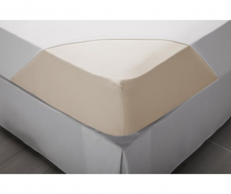 Elastična rjuha Percale Comfort Natural