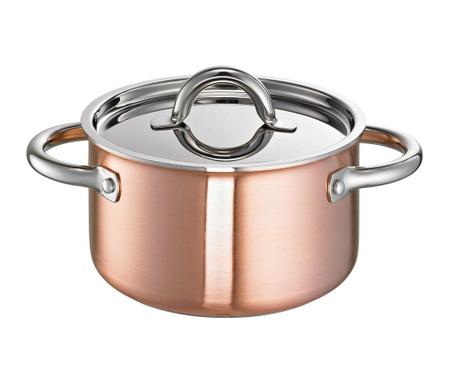 Garnek z przykrywką De Luxe Copper
