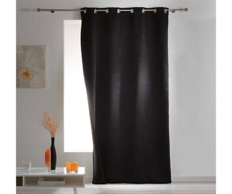 Závěs Covery Black 140x260 cm