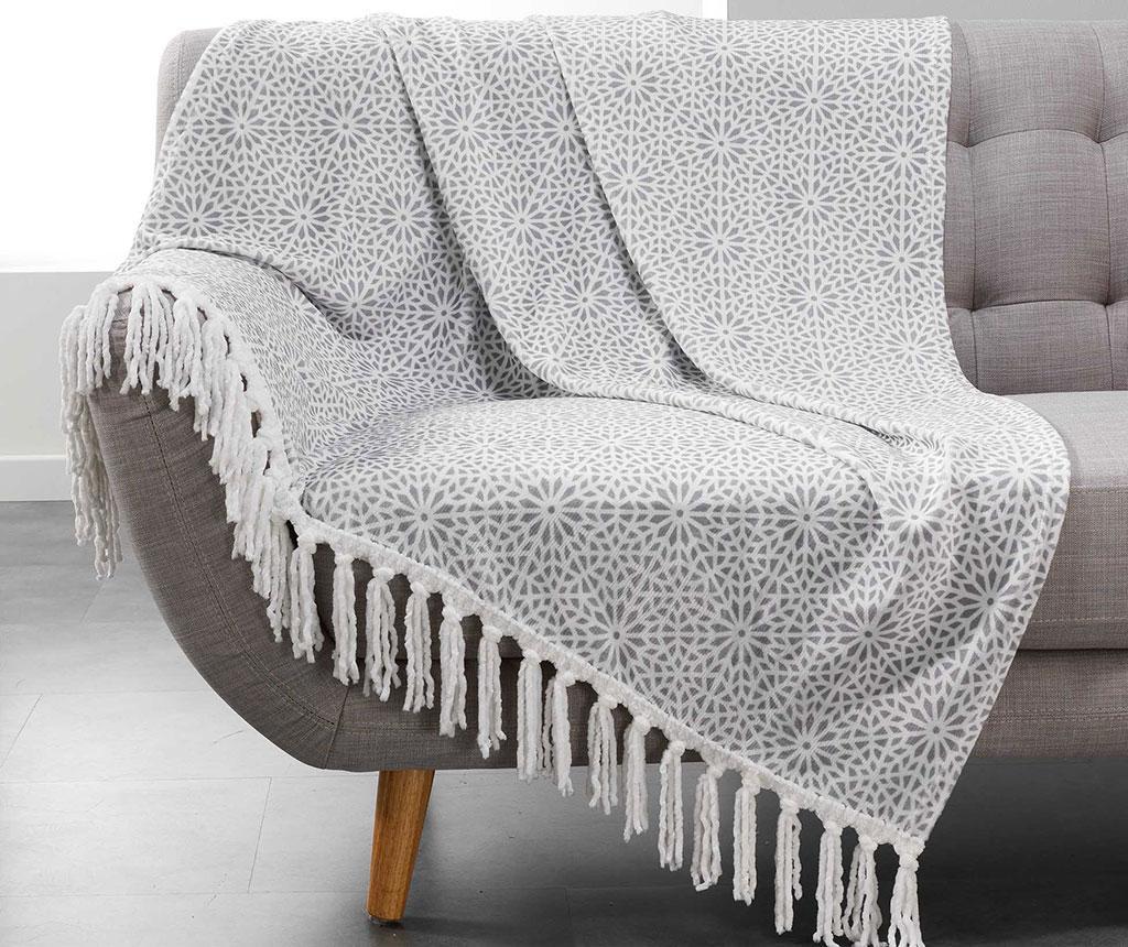 Priročna odeja Tunis Grey 125x150 cm