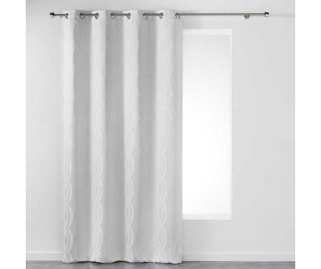 Závěs Miriade White 140x260 cm