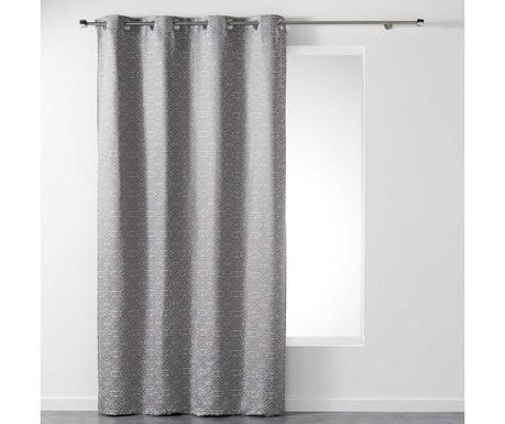 Zasłona Dynastie Grey 140x260 cm