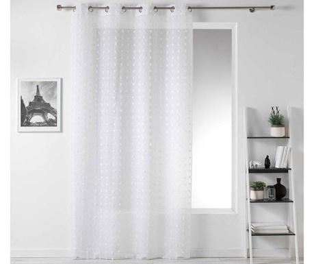 Záclona Pompom White 140x240 cm
