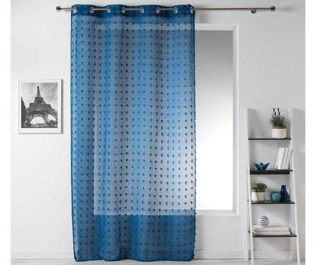 Perdea Pompom Blue 140x240 cm