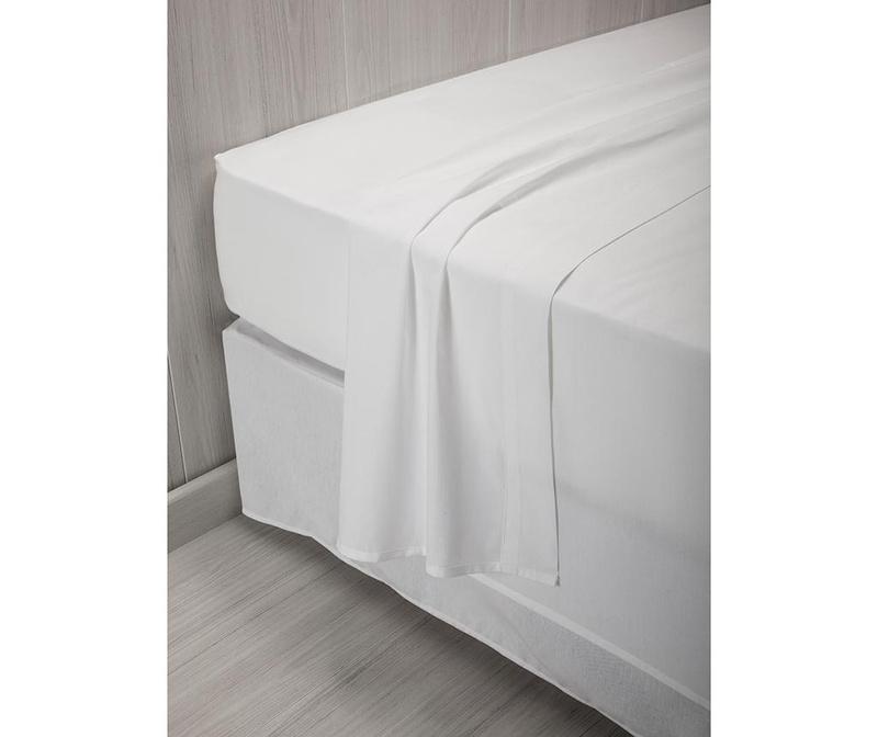 Cearsaf de pat Percale Quality White 240x260 cm