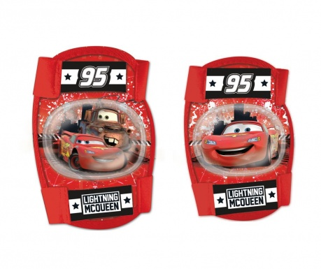 Set cotiere si genunchiere Cars 4 ani