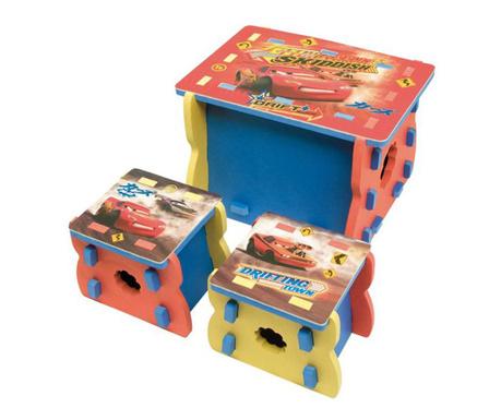 Race 3 darabos Gyerekbútor szett
