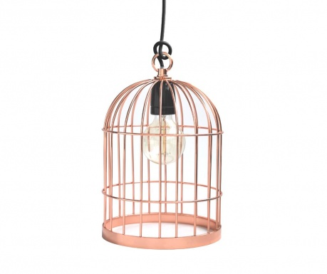 Bird Cage Copper Black Csillár
