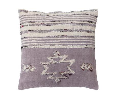 Poduszka dekoracyjna Giunchiglia Duo Lilac 60x60 cm