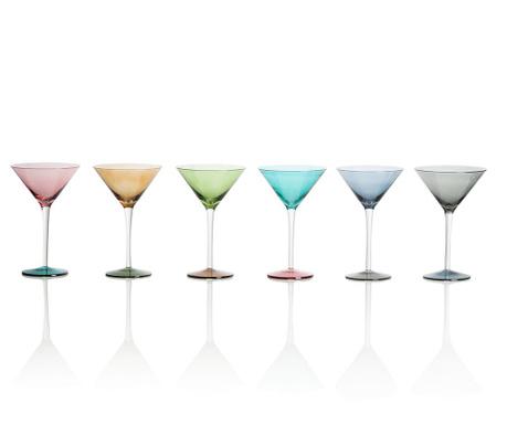 Zestaw 6 kieliszków do martini Invert