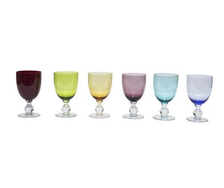 Zestaw 6 kieliszków do wina Alicudi
