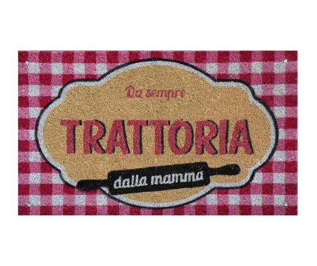 Predpražnik Trattoria Dalla Mamma 45x75 cm