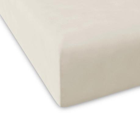 Plahta s elastičnom gumicom Percale Pure Stone