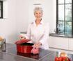 Posoda za peko s pokrovom Rustika Oval Red 7.1 L