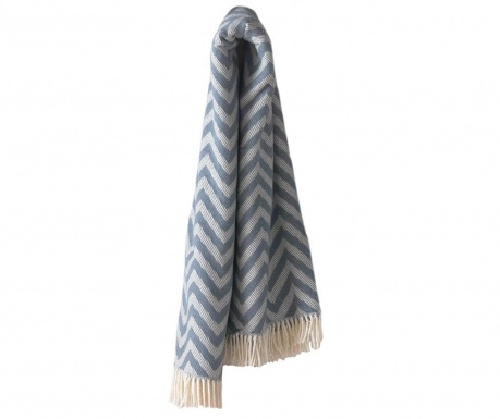 Koc Chevron Night Blue 140x180 cm