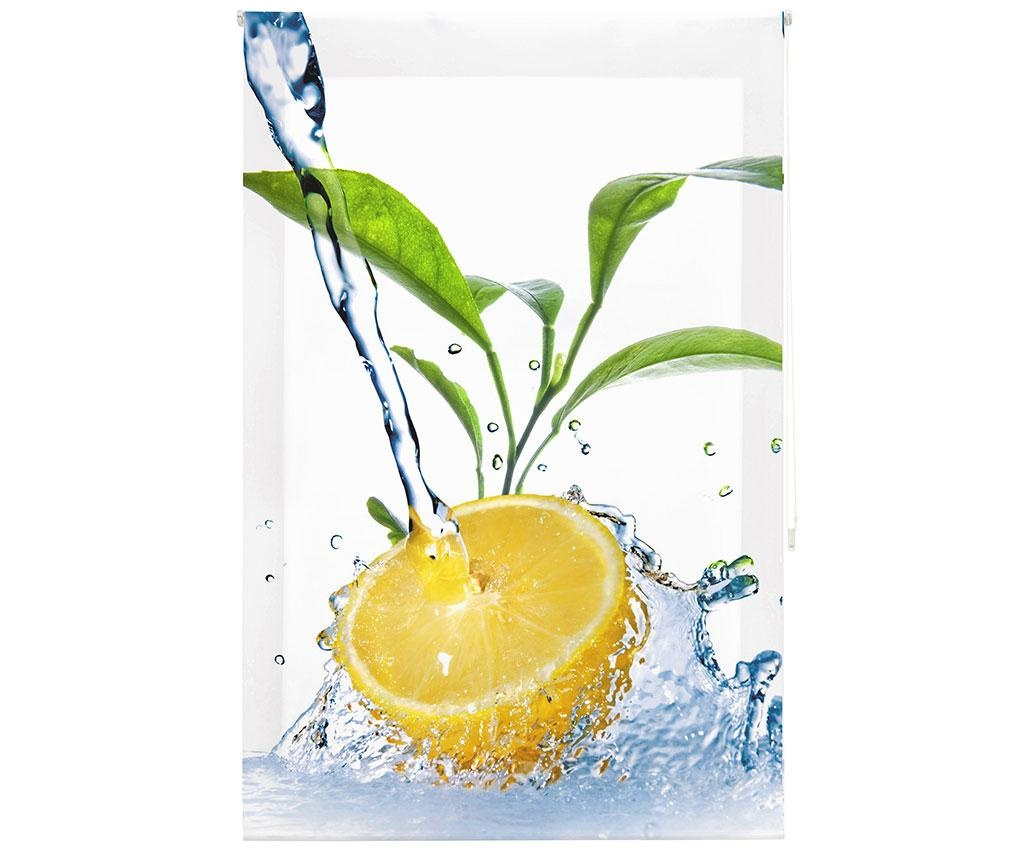 Jaluzea tip rulou Lemon Freshness 160x250 cm
