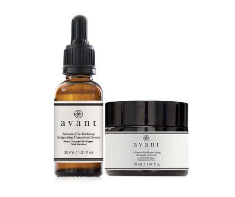 Zestaw serum i krem do twarzy na noc Anti-Ageing Complexe Skin Renew