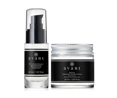 Zestaw serum i krem do twarzy Skin Tightening V-Ageing